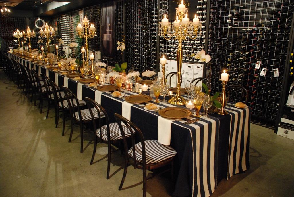 Dine in Wine Cellar LA CANTINA