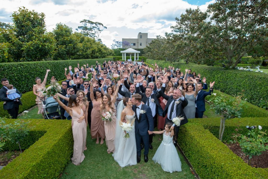outdoor wedding manly
